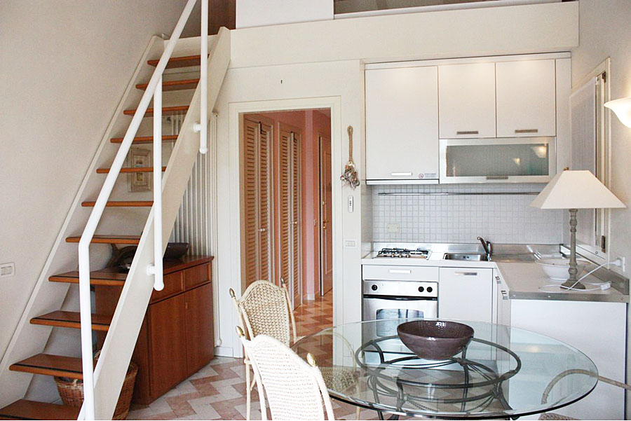 Internal M2 – Mini apartment with mezzanine